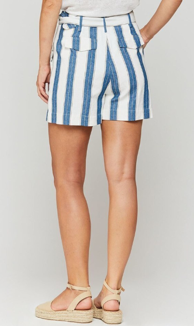 Grace Striped Shorts
