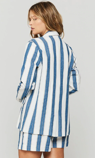 Kaden Striped Blazer