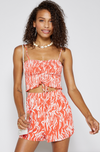 Crochet Detailed Halter Tube Top