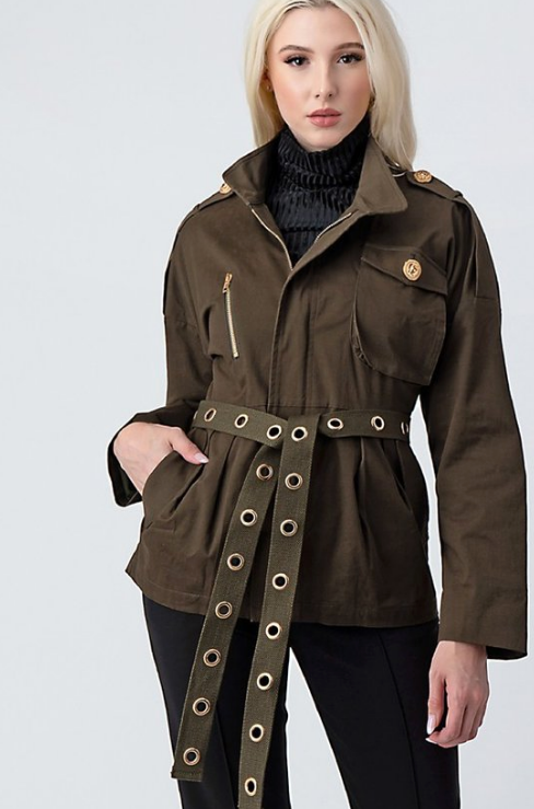 Brooklyn Military Jacket