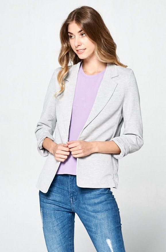 The Perfect T-Shirt Blazer
