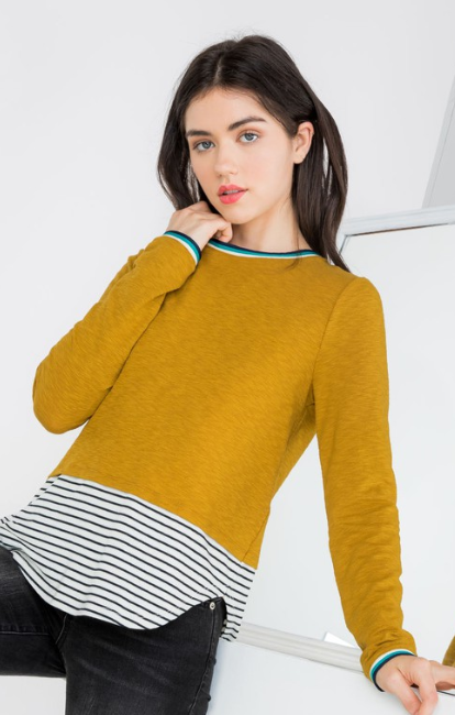 Teacher's Pet Knit Top