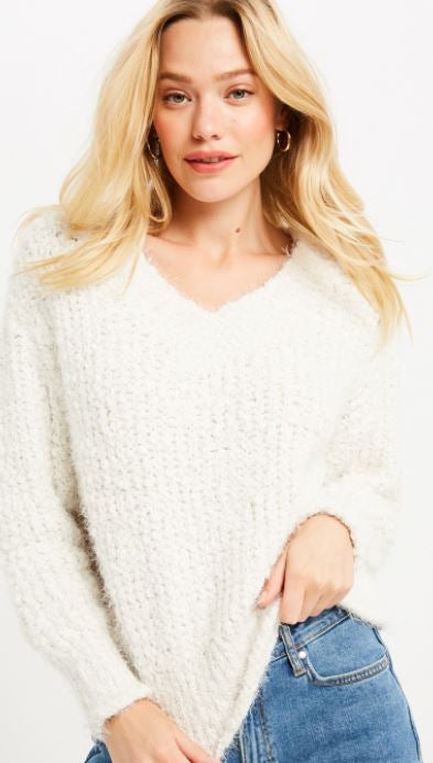 Floating On Air Sweater
