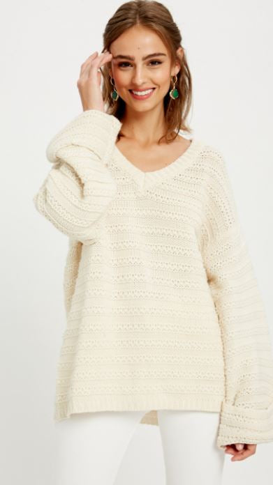 Larger Than Life Sweater