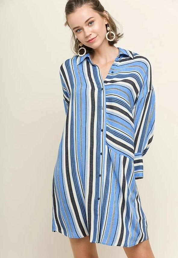 The Right Stripes Dress