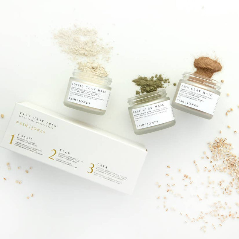 Clay Mask Trio Set