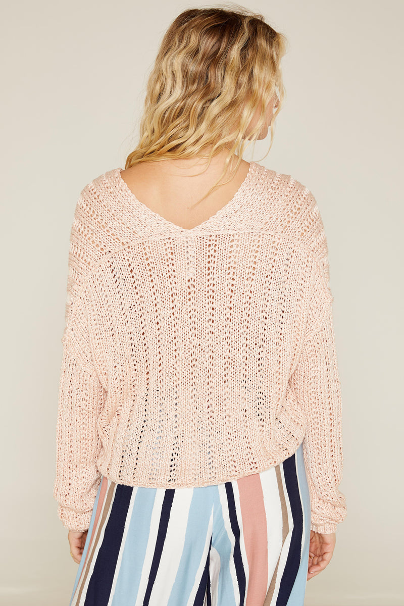 Daya Deep V Sweater