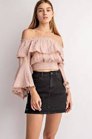 Fringe Detail Blouse