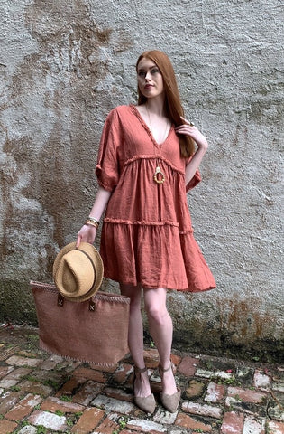 Picnic on the Seine Dress
