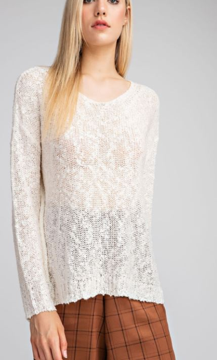 Gauze Applause Sweater
