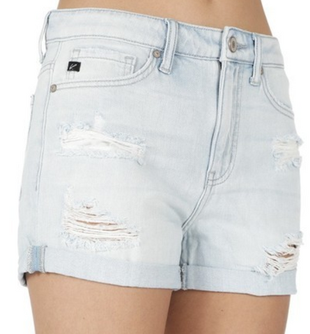 Midnight Navy Paperbag Shorts