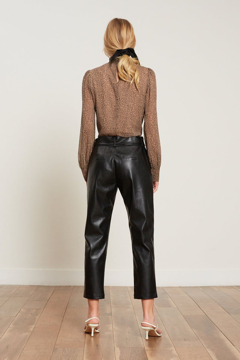 Londyn Leather Trouser