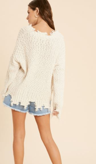 Naturally Distressed Sweater