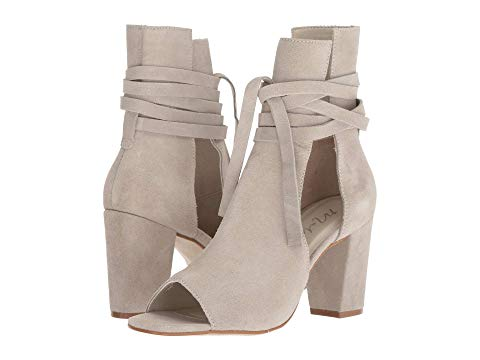 Rewind Suede Open Booties