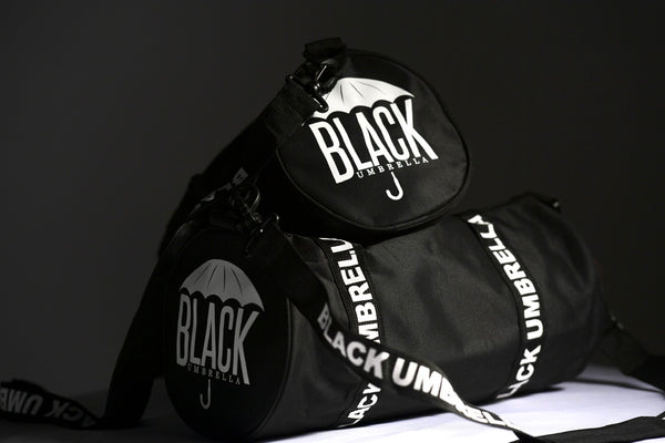 Black Umbrella Mini Duffle Bag