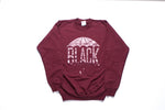Black Umbrella Maroon Crewneck