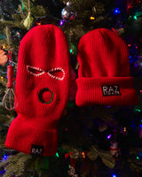 Red Christmas Skimask Beanies