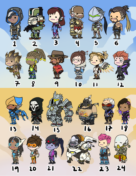Dumb_Overwatch Charms