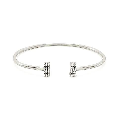 jewelry round plain essentially collections bangles golf silver sterling products buy bangle