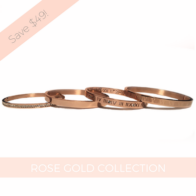 4 Piece Bangle Collection Gift Set