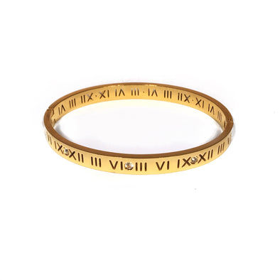 Cut-Out Roman Bangle