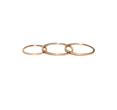 Slim Classic Ring Set