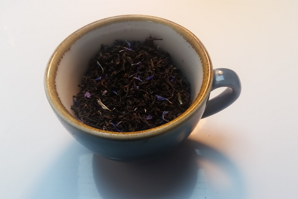 Earl Grey Blue Flower