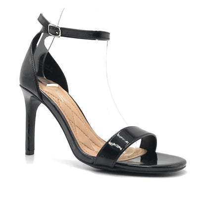Anne Michelle Desired-01S Black Color Heels Shoes for Women