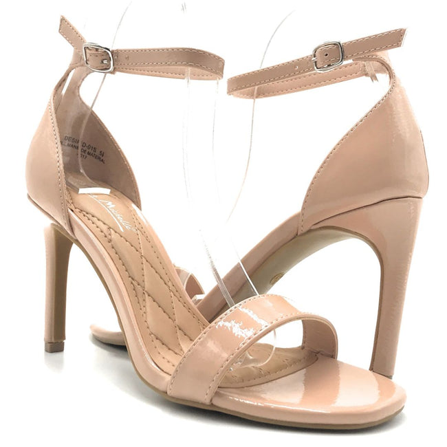 Anne Michelle Desired-01S Nude Color Heels Shoes for Women