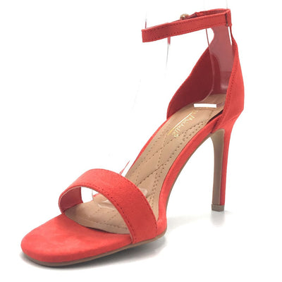Anne Michelle Desired-01S Orange Color Heels Shoes for Women