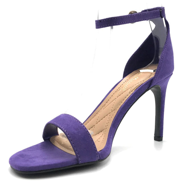 Anne Michelle Desired-01S Ultra Violet Color Heels Shoes for Women