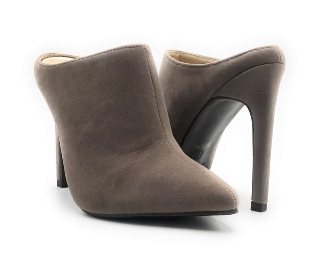 Anne Michelle Stepup-11 Taupe Color  Shoes for Women