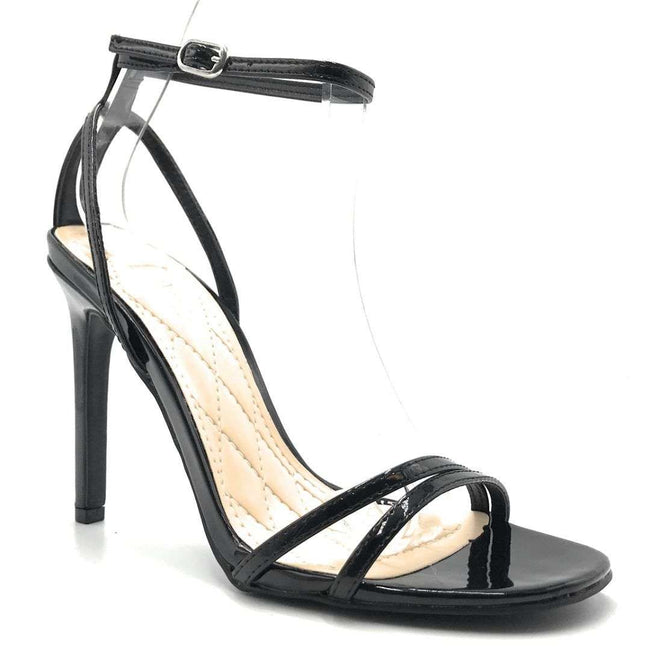 Anne Michelle Timeless-16S Black Color Heels Shoes for Women