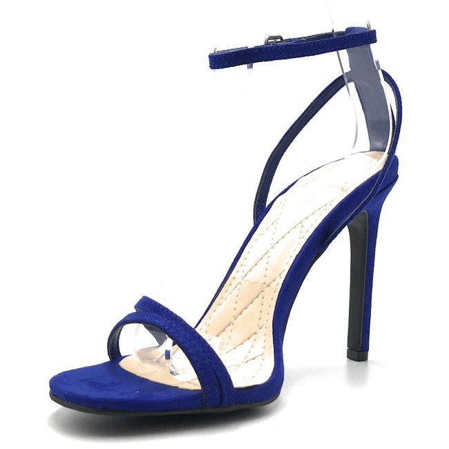 Anne Michelle Timeless-16S Electric Blue Color Heels Shoes for Women