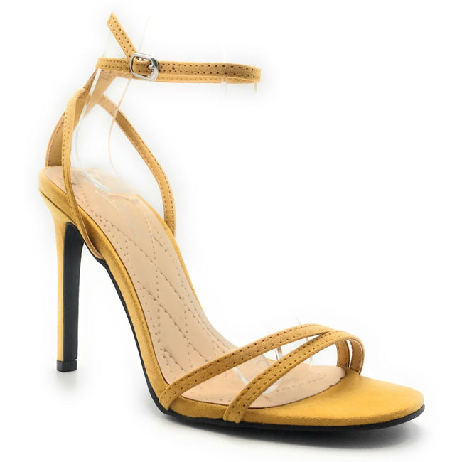 Anne Michelle Timeless-16S MariGold Color Heels Shoes for Women