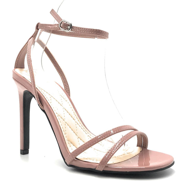 Anne Michelle Timeless-16S Mauve Color Heels Shoes for Women