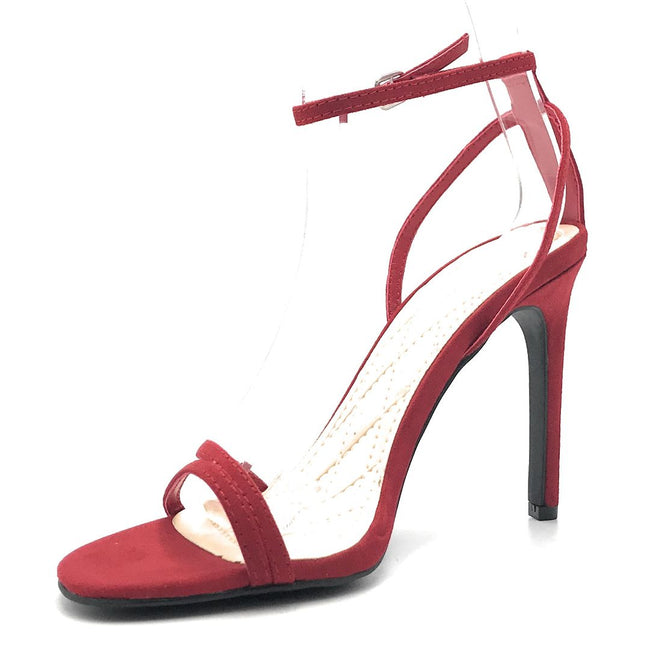 Anne Michelle Timeless-16S Red Color Heels Shoes for Women