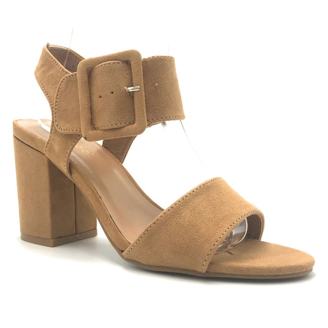 Bamboo Appetite-67 Tan Color Heels Shoes for Women