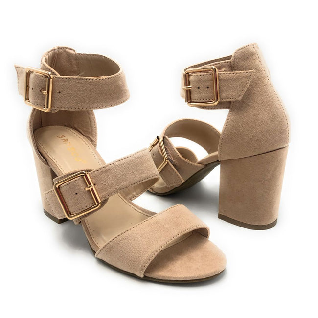 Bamboo Appetite-70 Nude Color Heels Shoes for Women