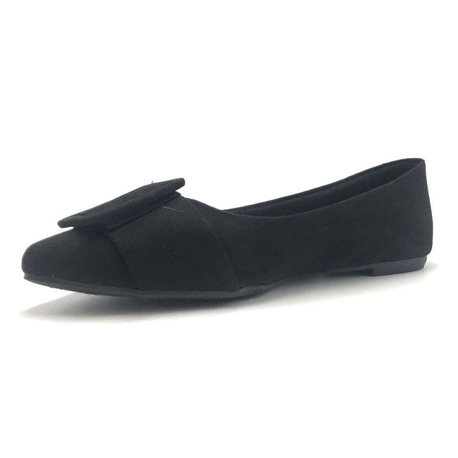 Bamboo Blog-57 Black Color Ballerina Shoes for Women