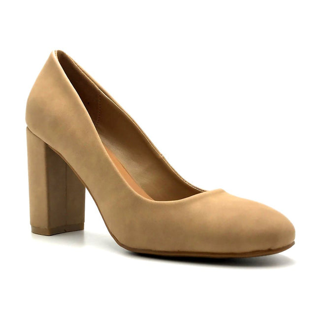 Bamboo Camellia-04 Natural Color Ballerina Right Side View, Women Shoes