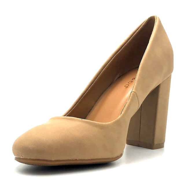Bamboo Camellia-04 Natural Color Ballerina Left Side view, Women Shoes