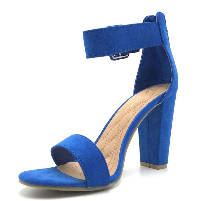 Bamboo Frenzy-60S Saphire Color Heels Shoes for Women