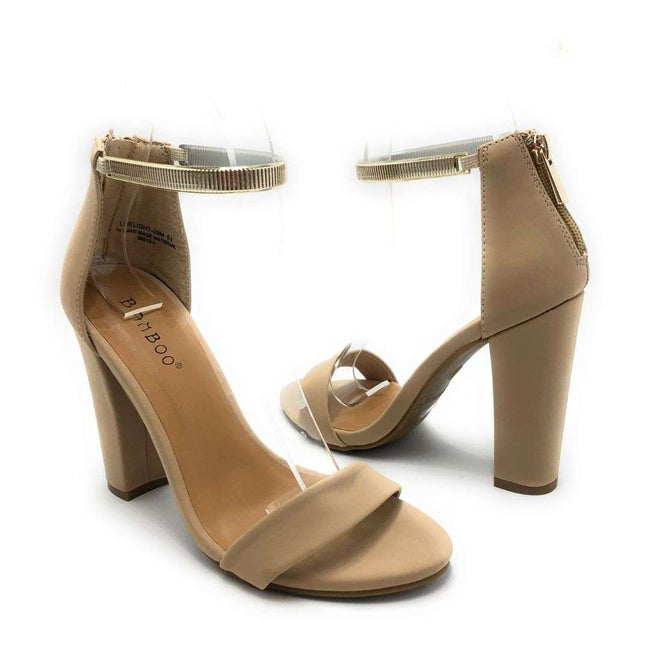 Bamboo Limelight-33M Nude Color Heels Shoes for Women