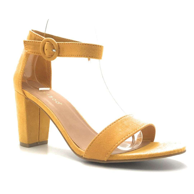 Bamboo Striking-21S MariGold Color Heels Shoes for Women