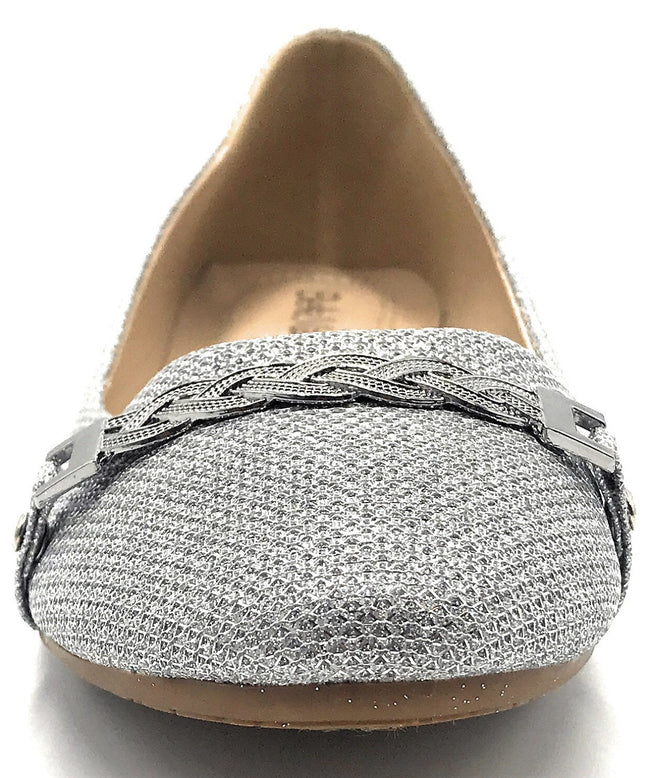 Bella Marie Stacy-04 Silver Color Flat-Sandals Shoes for Women