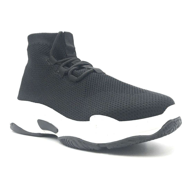 Cape Robbin Its Real Black Color Fashion Sneaker Shoes for Women
