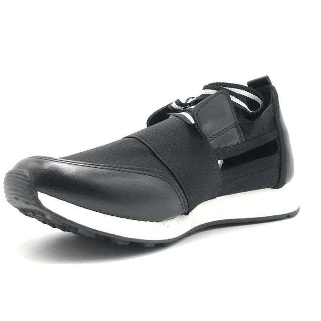 Cape Robbin Lakers Black Color Fashion Sneaker Shoes for Women
