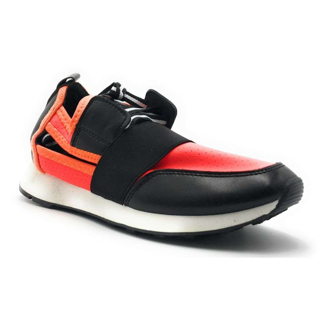 Cape Robbin Lakers Orange Color Fashion Sneaker Shoes for Women