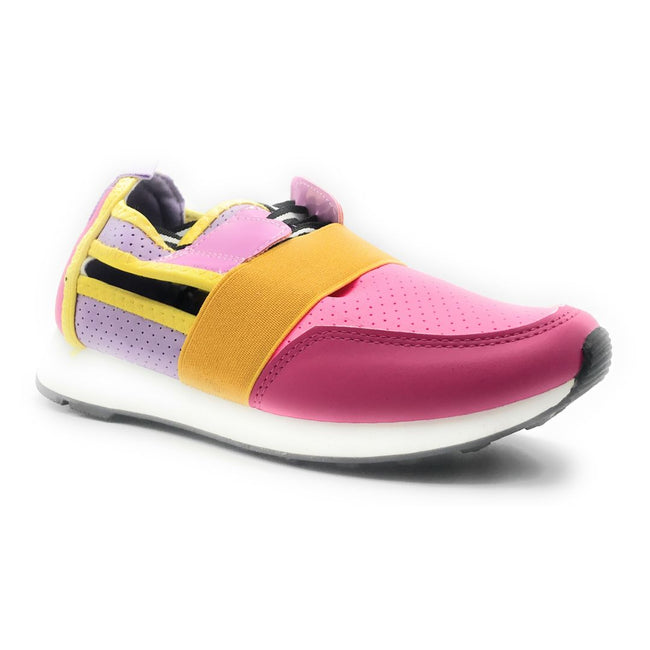 Cape Robbin Lakers Pink Color Fashion Sneaker Shoes for Women